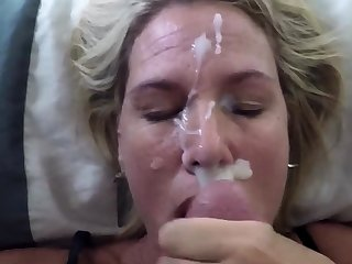 She is self-important to wear my cum