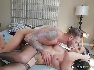 Spliced dresses up here lingerie to fuck will not hear of lover
