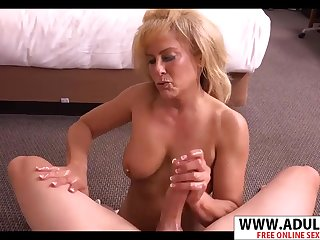 Slim Mother Candy Having Distraction With Conceal Cock