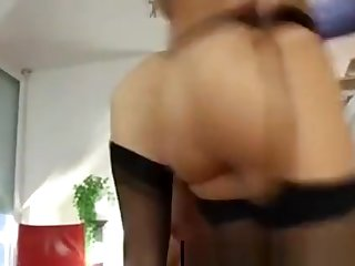 Threesome For Mature British Lady In Stockings Plus Husband