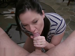 Black Whisker Sexy Peek at Busty Wife Anal Riding Cock Worship And Swallow-1080HD