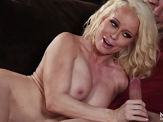 Horny Mature Licks Take for a ride - Nikki Delano porn video