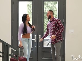 Historic and passionate anal sex fun with bodacious French god Anissa Kate