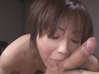 Hot Japanese shows lacking premium skills be beneficial to cock riding