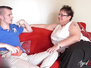 Older mature ladies exotic britain and exotic spain in one sexy video