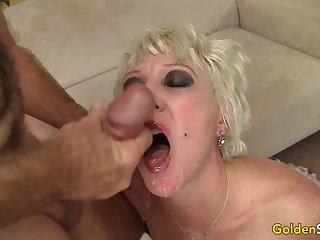 Grandma Dalny Marga Fucked Passionately