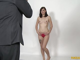 Elena Vega gets will not hear of pussy pounded approximately manifold functioning greater than the casting today
