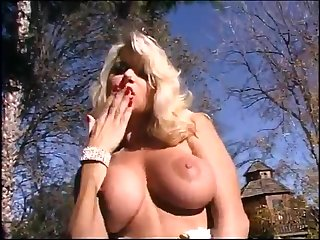 Light-complexioned mother I´d like close to thing embrace with big hooters