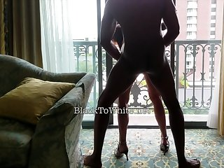 Amasterdam hooker sucks amateur black cock in sure thing sexual congress