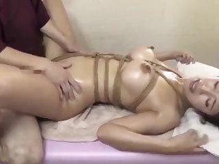 Japanese MILF is addicted knead