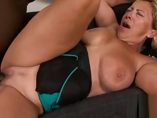 Serendipitous huge titted granny is very happy to get nailed wide of a black monsbefore-hi-3