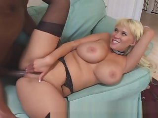 Busty Blonde Excited To Get Quickening On