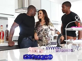 EvilAngel - Interracial double shacking up Mother I´d Ask preference To Fuck Lisa Ann B B Cs - Lisa - lisa ann