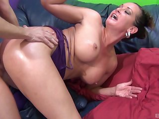 Pornstar Tory Lane loves having sex with one of her mature fans