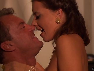 Sexy tie the knot Penny Flame fucked by her thump friend's horny husband