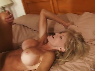 Beautiful order about unprofessional cougar is quite a freak round the sheets!