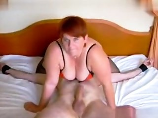 Femdom fetish full-grown brit russian cumshot