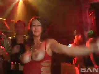 The hottest reality scene from a difficulty night club and these hoes look sexy as A fuck