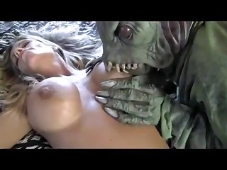 Banged By Strange Creature - kinky porn video