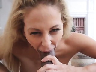 Hot blonde milf dildo first discretion Cherie Deville in