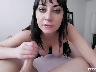 Rough POV pussy pounding prevalent personable Allesandra Snow