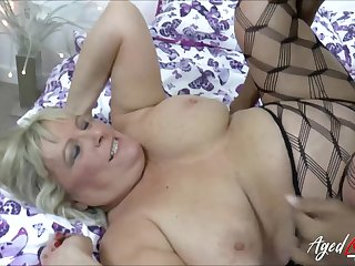 Hot busty blonde got fucked really firm away from fat and crave black cock