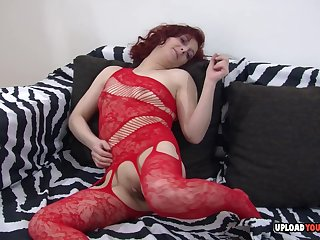 Smoking milf cannot have no great shakes of her dildo inside of her stingy wet love tunnel.