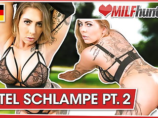 MILF Hunter cums on Mia's tattooed body! milfhunter24.com