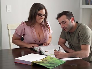 Its Hard To Comply with Focus When You Got A Order about Teacher - Natasha Nice